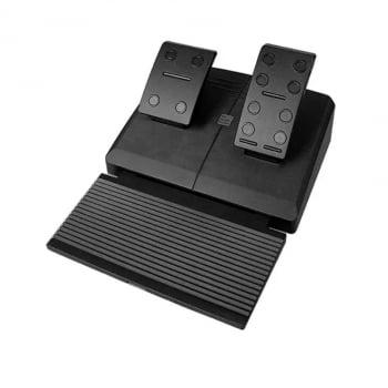 Volante Gamer Com Marcha E Pedal Multiplataforma- Multilaser